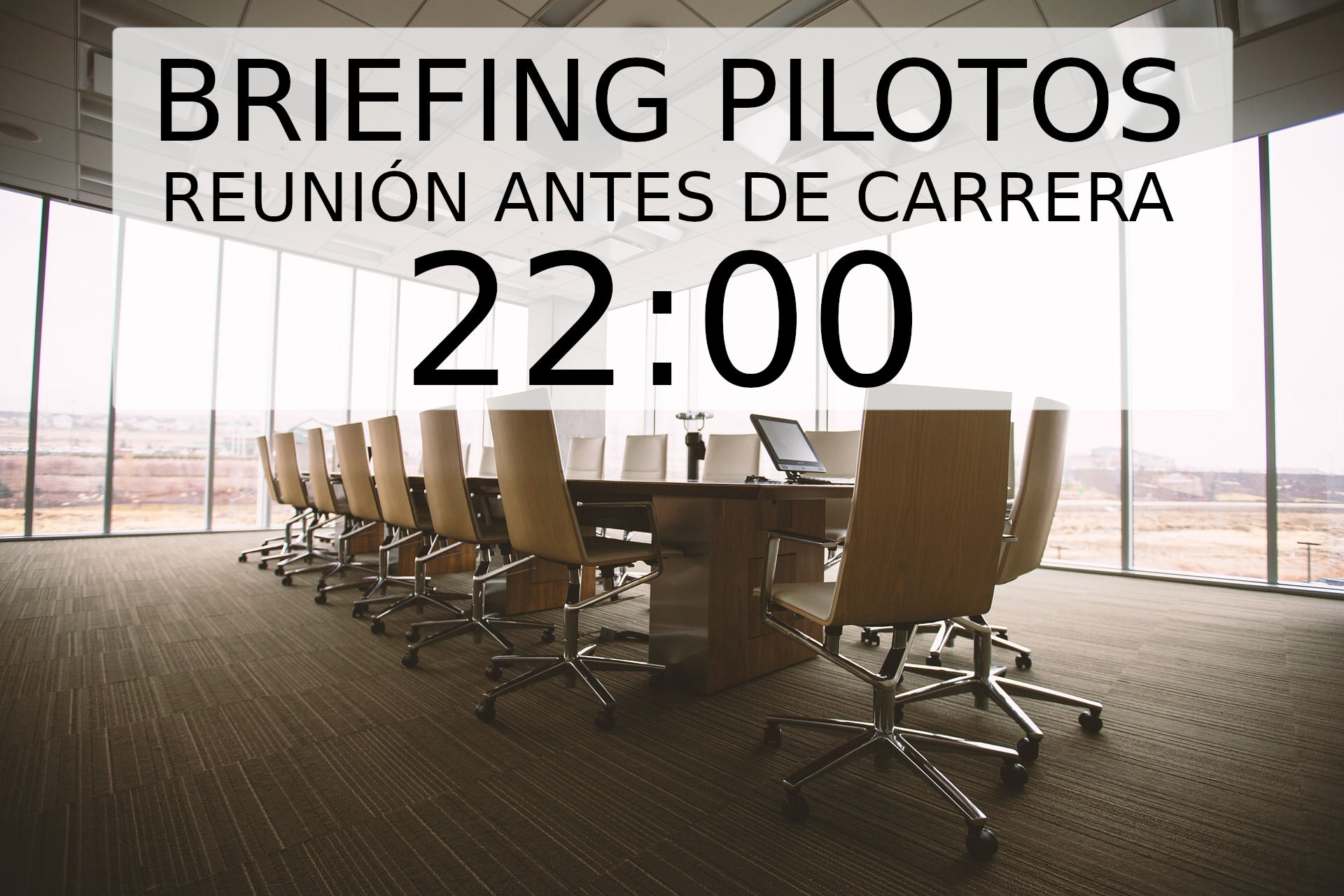 briefing pilotos